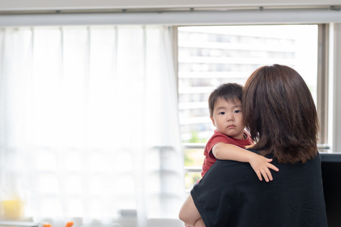 育児中の訪問美容