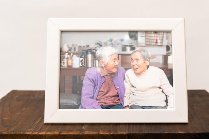 豊中市で高齢者の写真撮影サービス
