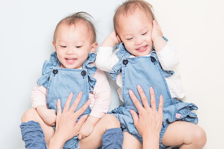 双子ちゃんの写真